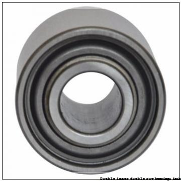 EE626210/626321D Double inner double row bearings inch