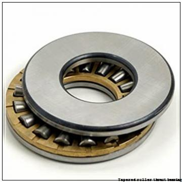 T126 T126W Tapered roller thrust bearing